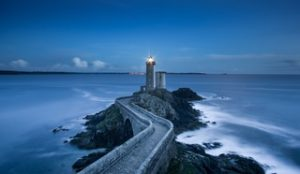 Lighthouse at Night | Heidi McBain, Women's Counselor & Online Therapist in Flower Mound, Texas