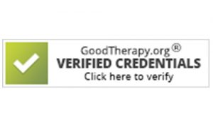 GoodTherapy.org Verified Credentials Button