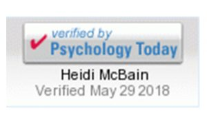 Psychology Today verification button